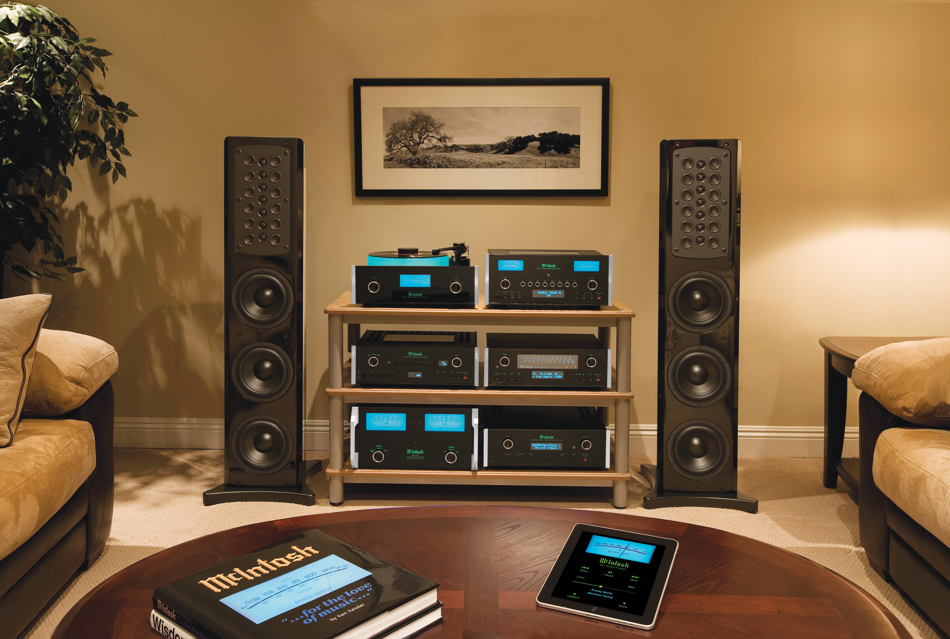McIntosh Audio Delivers High-Performance Sound for Your Whole California Home
